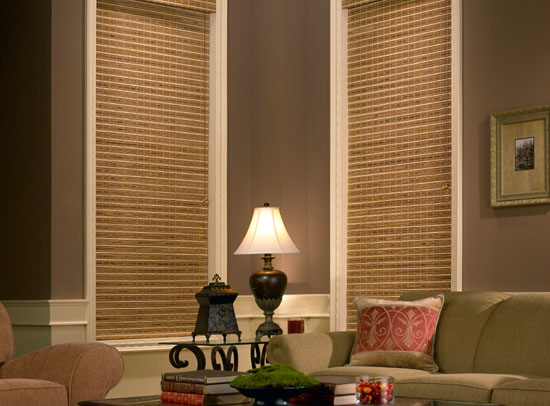 Anthem Woven Wood Shades