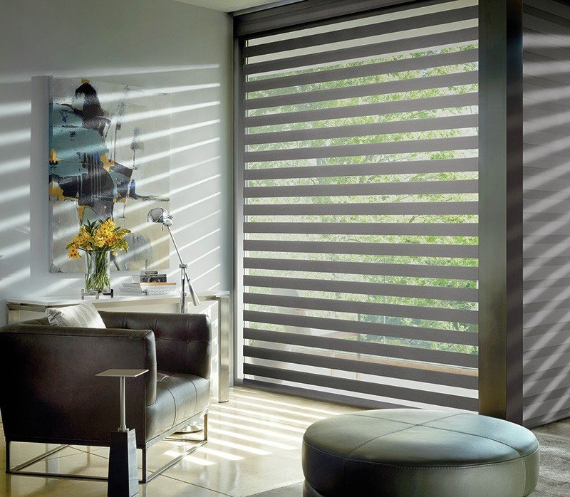 modern designer banded shades in anthem arizona